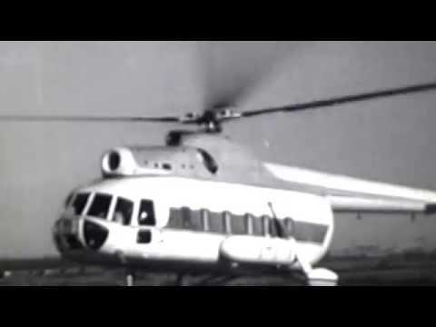 Первый полет В-8 (Ми-8) 55 лет назад