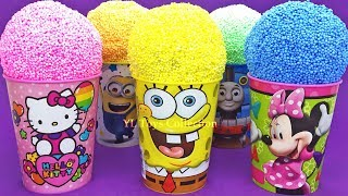 Video Play Foam Ice Cream Cups Surprise Hello Kitty Spongebob Minions Thomas and Friends Kinder Eggs MP3, 3GP, MP4, WEBM, AVI, FLV April 2019