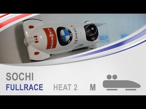 Sochi | 2-Man Bobsleigh Heat 2 World Cup Tour 2014/2015 | FIBT Official
