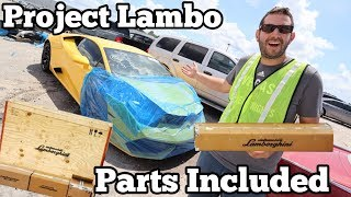 Video I Found a Lamborghini at the Salvage Auction that Comes with ALL The Parts to FIX It! MP3, 3GP, MP4, WEBM, AVI, FLV Juni 2019