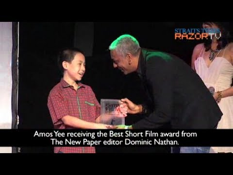 13-year-old wins top film prizes (TNP FiRST Film Fest Pt 1) (видео)