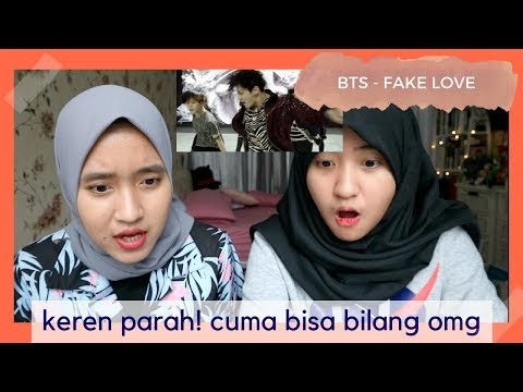 bts - fake love  reaction