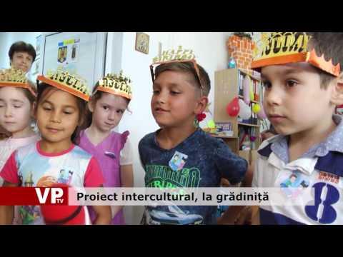Proiect intercultural, la grădiniță