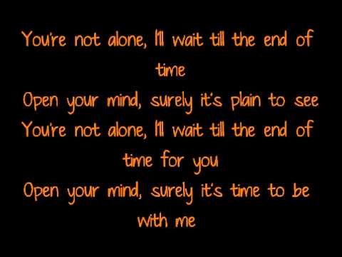 Mads Langer - You're not alone lyrics
