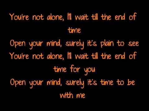 Mads Langer - You're not alone lyrics
