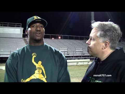 Eli Harold Interview 11/19/2013 video.