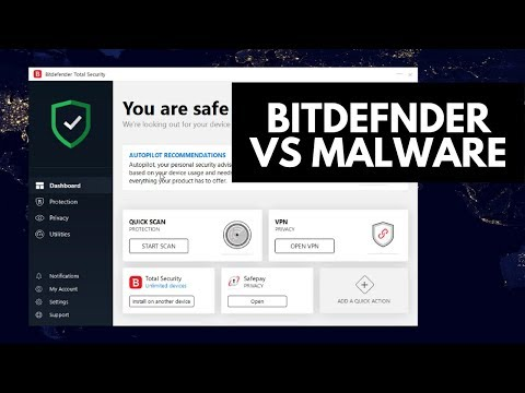Bitdefender Total Security 2019 Review | Tested vs Malware