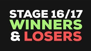 Stages 16 and 17 recap and winners and losers. follow me bruh https://www.facebook.com/theVeganCyclist ...