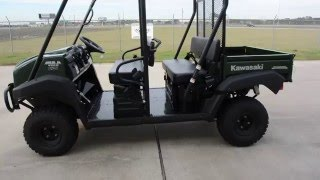 8. SALE $9,999: 2016 / 2017 / 2018 Kawasaki Mule 4010 Trans Timberline Green Overview and Review