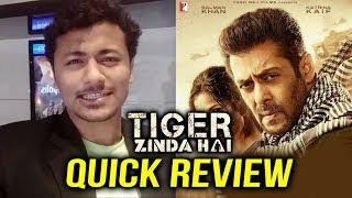 Tiger Zinda Hai QUICK REVIEW   Blockbuster Of 2017   Salman Khan   Katrina Kaif