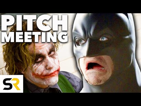 The Dark Knight Pitch Meeting