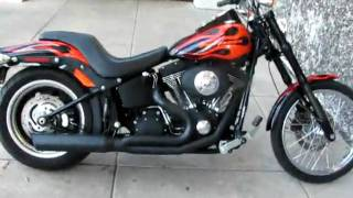6. 2008 Harley-Davidson Night Train, Inverted forks, Header, for Sale