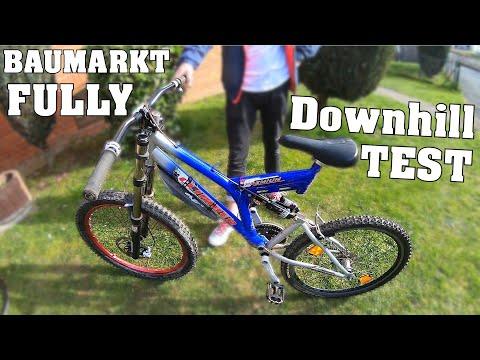 Baumarkt-Fully | Rock Shox Gabel & Dämpfer | DOWNHILL TEST | DownhillSucht