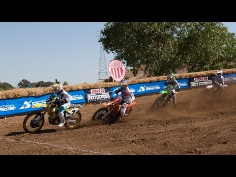 Motorcycle - Watch how James Stewart, Blake Baggett and Zach Bell all grabbed holeshots at Hangtown and earned points toward the Motorcycle Superstore Holeshot Championsh...