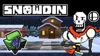 Snowdin (Undertale) – Stage Mod