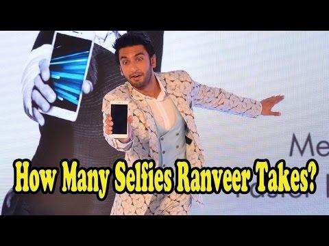 Here's How Many Selfies Ranveer Singh Takes In A D