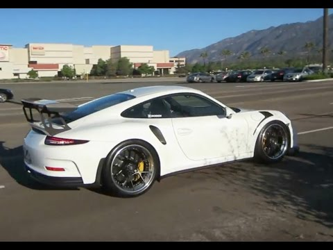 Porsche 911 (991) GT3 RS w/ Custom Wheels, Loud Exhaust