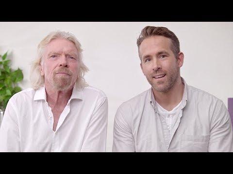 Ryan Reynolds & Richard Branson | Announcement - Thời lượng: 97 giây.