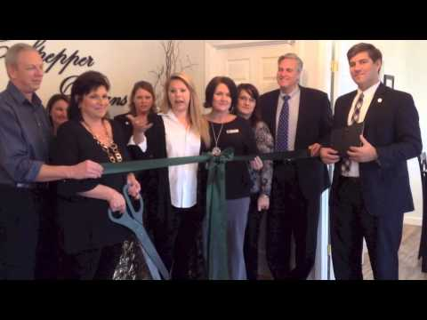 Ribbon Cutting at Culpepper Designs