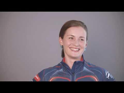 Veronika Vítková při focení