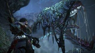 Monster Hunter World: Iceborne - Blackveil Vaal Hazak (Solo / Longsword)