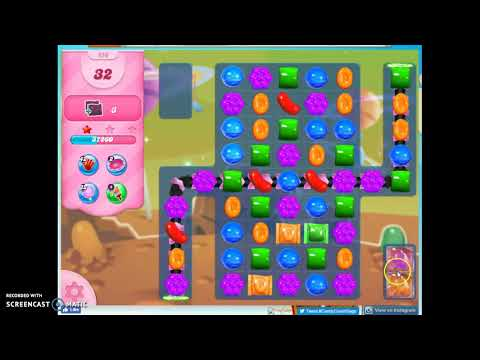 Candy Crush Level 656 Audio Talkthrough, 3 Stars 0 Boosters