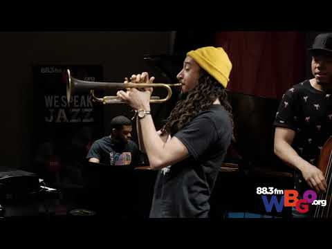 "Theo Croker performs ""The Messenger"" on WBGO"