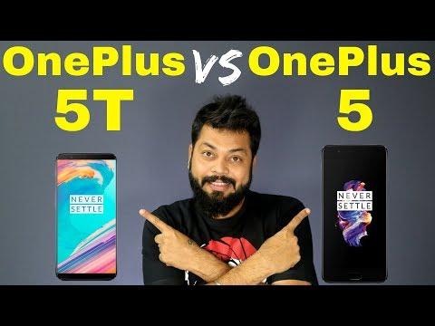 OnePlus 5T vs OnePlus 5 Comparison - ALL DETAILS