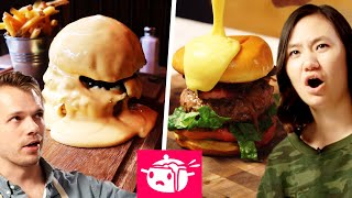 We Tried To Re-Create This Cheese-Covered Burger by Tasty