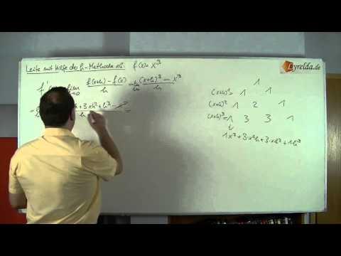Ableitung h-Methode Lösung 4
