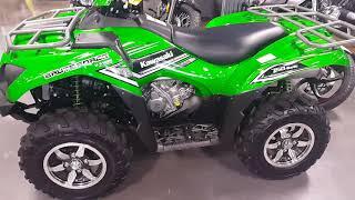 9. Picking up my new ATV 2016 Kawasaki Brute Force, 50th Anniversary