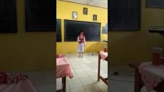 Lomba nyanyi juara 1 kembali ke sekolah