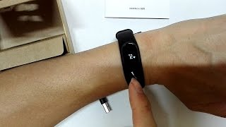 Xiaomi Mi band 2 Unboxing & simple Review