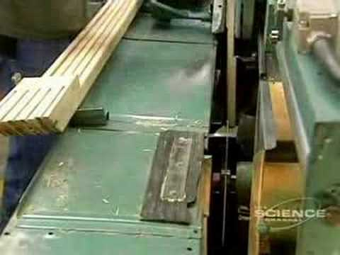 How Hockey Sticks Are Made