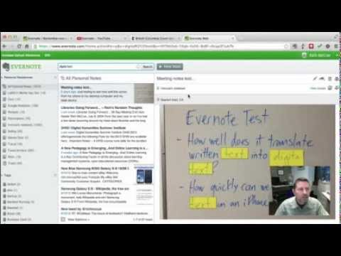 Knowledge Management & Research Tools: Evernote
