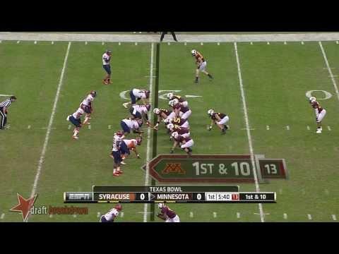 Jay Bromley vs Minnesota 2013 video.
