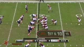 Jay Bromley vs Minnesota (2013)