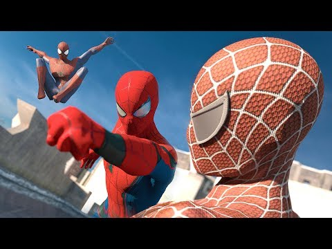 Spider-Man: Homecoming Vs. The Amazing Spider-Man Vs. Spider-Man | SUPERHERO BATTLE