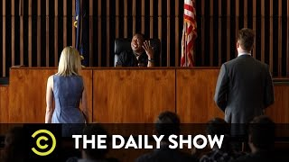 The Daily Show Outrage Court Trigger Warnings