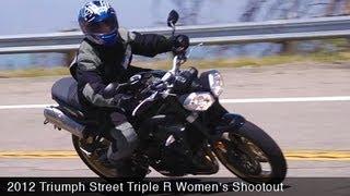 10. MotoUSA Women's Shootout: 2012 Triumph Street Triple R