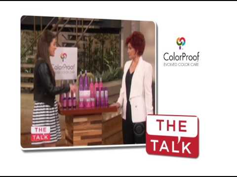 ColorProof Evolved Color Care Featured on The Talk