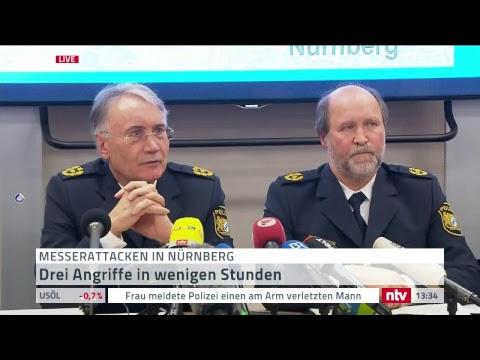 Die Polizei Nürnberg zu den Messerattacken auf drei F ...