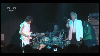 Rod Stewart and Jeff Beck - People Get Ready (Live)