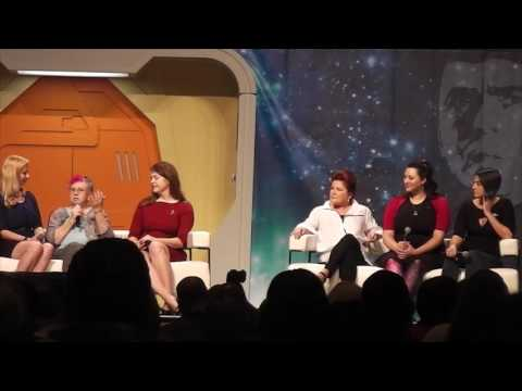 Women In Star Trek Panel with Kate Mulgrew at the 2016 Star Trek Convention