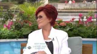 Sharon Osbourne's Interview On The Ellen DeGeneres Show In Orlando