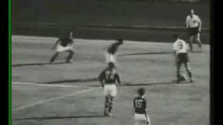 Josef Hügis drei Treffer bei der 5:7-Niederlage gegen Österreich (WM 1954)