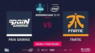 paiN vs Fnatic, ESL One Birmingham, game 3 [Adekvat, Eiritel]
