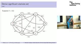 Jane Hillston (DDMCS@Turing): Moment analysis, model reduction and London bike sharing