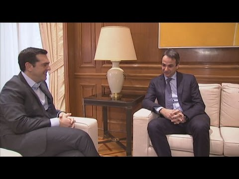Συνάντηση Α.Τσίπρα – Κ. Μητσοτάκη για το Κυπριακό