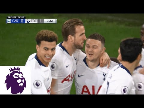 Video: Tottenham's Harry Kane strikes first against Cardiff City | Premier League | NBC Sports